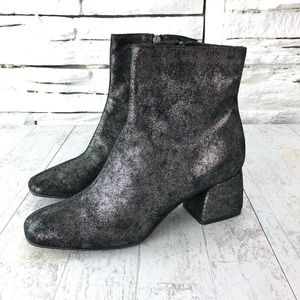 Cordani Made In Italy Noelle Bootie Pewter Sz 40
